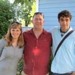 Hannah, Terry and Derek