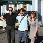 Andrew, Derek and Hannah