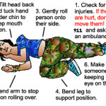 Recovery Position (taught in the AVI workshops)